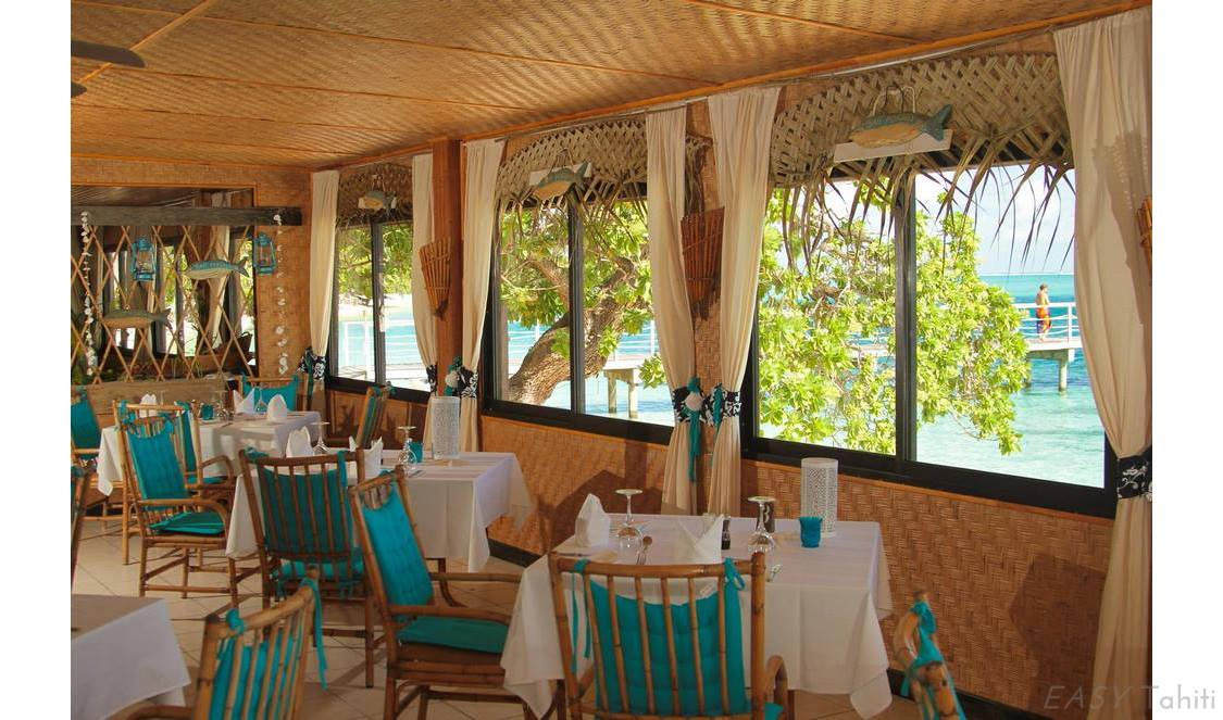 lunch during your vacation in Huahine