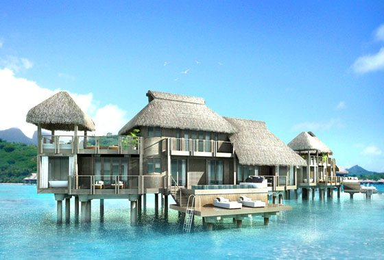 Image Result For Intercontinental Hotel Bora Bora Unique Intercontinental Resort Amp Thalasso Spa