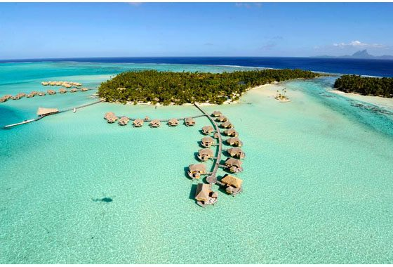 vacation in an overwater bungalow in Tahaa
