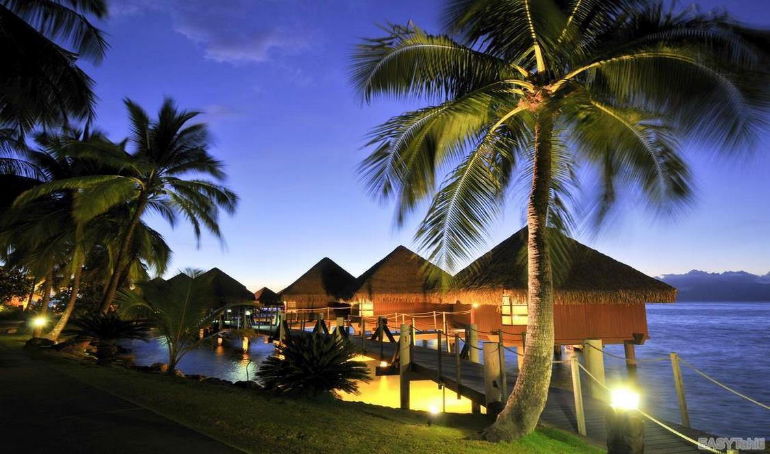 Intercontinental Tahiti Resort - Lagoon Overwater Bungalows