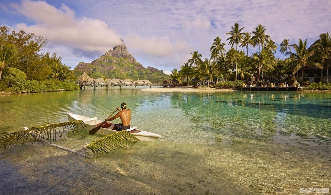 tahiti, huahine and bora bora vacation