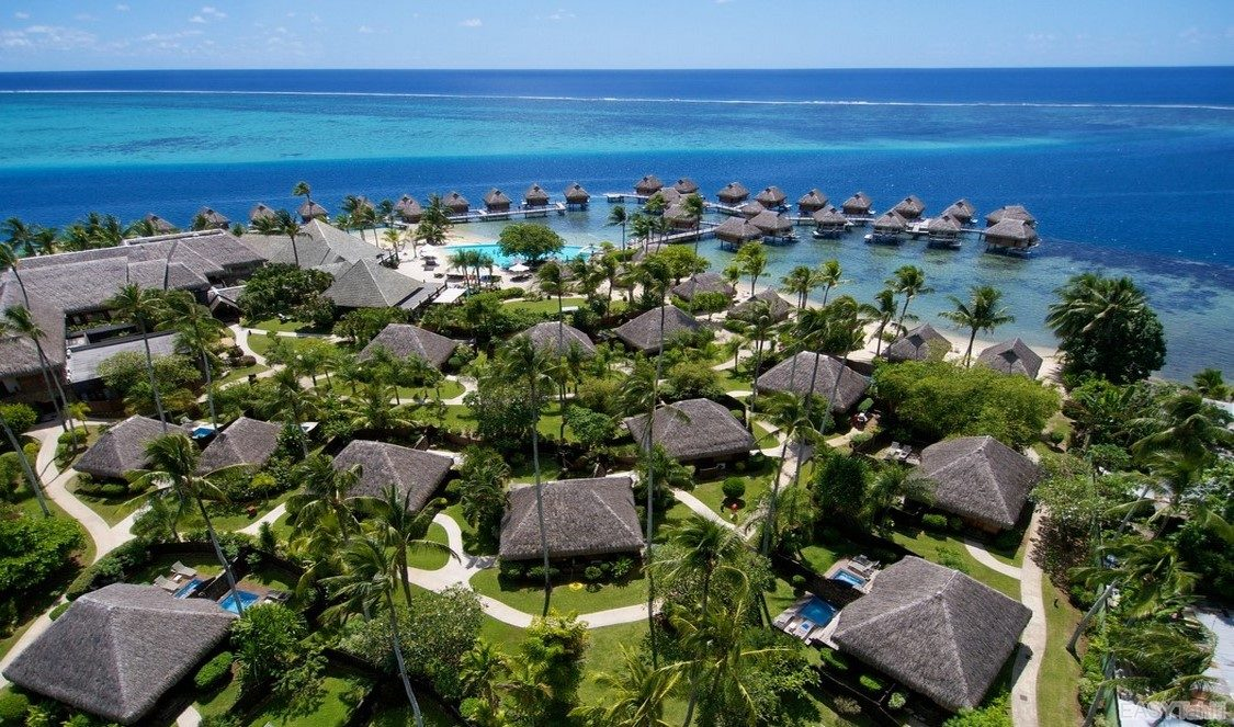 Manava Beach Resort and Spa Hotel Moorea photo 2