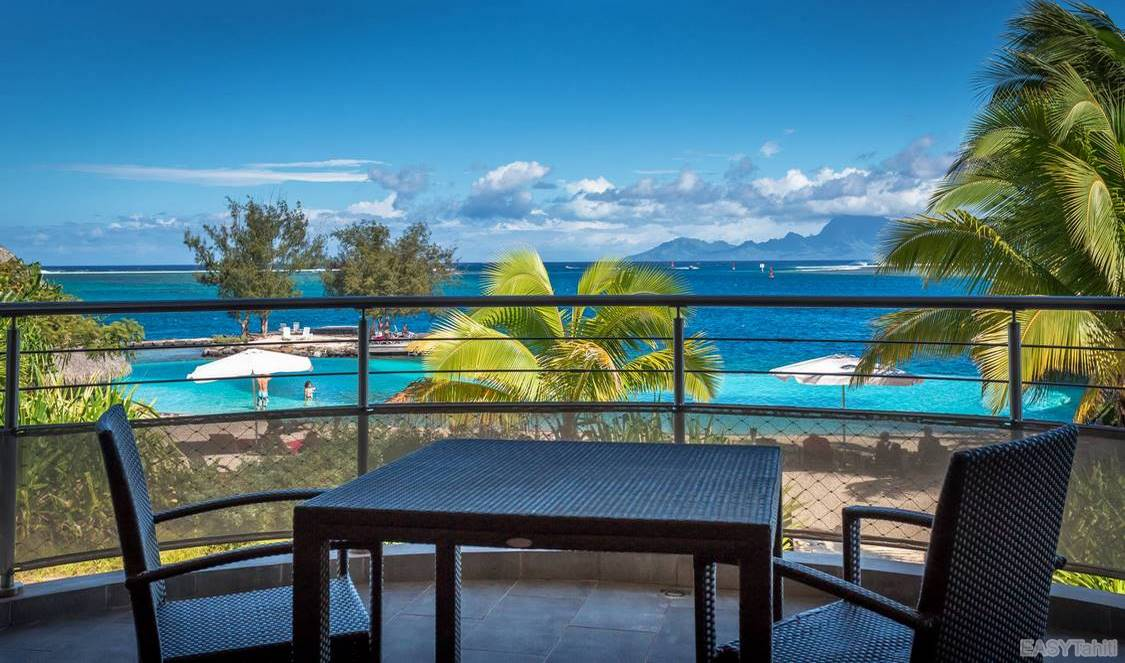 view from your room during your holiday in Tahiti, French Polynesia
