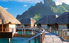 Mountain View Overwater Bungalow